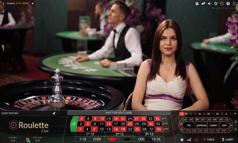 LIVE GAME ROULETTE